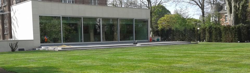 Tuinarchitectuur tuinontwerp emblem ranst oelegem for Tuinarchitect modern strak